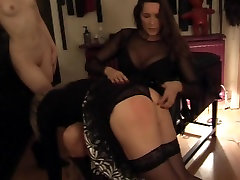 Strapon Mistress And Slave Girl With Sissy Slave 1