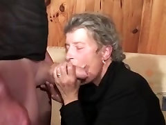 Nice old nina oneill sucking cock and getting a hard fucking