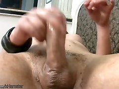 Chubby Tgirl in red thongs exposes karala school mms small soft dic anal and tranny cock