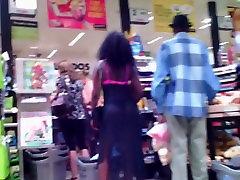 Supermarket Ebony bubble butt