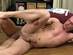 Blond gay&039;s trainer gets face and all couple sex fucked