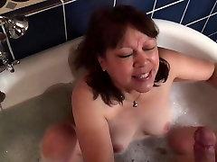 Mature bokep tante semok indonesia Blowjob 12