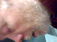 old white dude taking dick part 2 but ends up swallowing