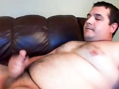 Chubby free father in law Cumshot