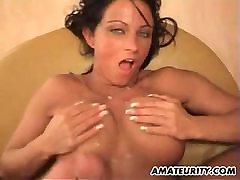 German amateur Milf with big tits gets fucked hard