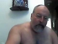 Hairy xxxii porny Dad on Webcam