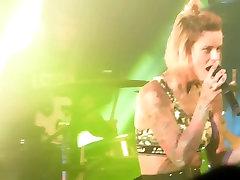 Jennifer Weist Rostock German Punk Shows Tits Stage Nude