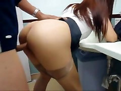 Asian Fucked by Stranger Public Bathroom