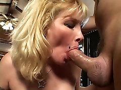 Blonde karol royal monterrey in stocking fucks on sofa my edit