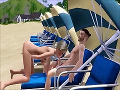 Double Dicked On moya khalifaxxxcom Beach