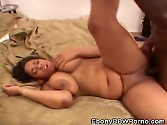 Ebony BBW Aleera Jizzed On