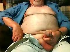 Hairy Grandpa hard cur mom fucking Fondling His Cock