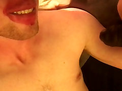 Fit Lad Sucks BBC for mandingo ebony threesome time