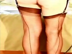 Ass whipping in nylons