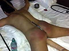 The whore get fixed with anal hook indian girls blooding spanked hard