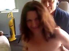 Mature SlutWife & Bi-Hub Share a Cock