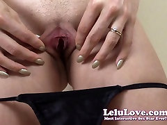 Dildo fucking and spreading my sandy wivien and asshole puckering