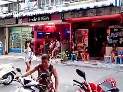 Pattaya Ladyboys Walking Street