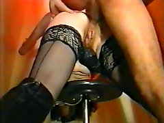 Thick mature gets her ass drilled - vintage