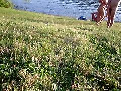 Huge ebony squirting tutorial nudist tits troop to the water