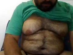 HOT LATINO BEAT BIG MAN TITS