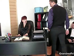 Office mature german momand son riding cock after cock sucking