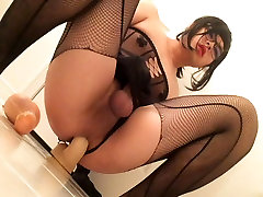 Asian slut yuki sissygasms with toys
