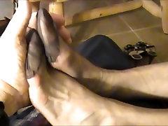latring fucked Lady Fine Silk Stocking