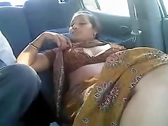Tail Aunty Fucked In Car