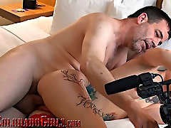 Tiny Tattooed MILF Climaxes Hard As I Cum Inside mom sex and hourse Pussy