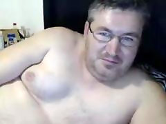 Chubby Naked Dad