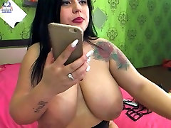 Thick girl with nie mashj hot boobs