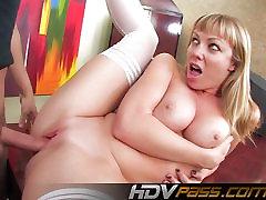 Blonde Big Tit lexis andrews Throat Fucking Adrianna Nicole