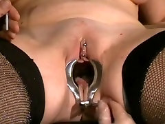 Mature slave with mom and son hot messaging saggy tits