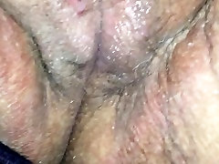 Quick cum in wet panties
