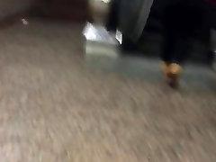 Big ghetto booty in wbnr boner pants vpl