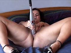 Sexy sha rizel prego and her bat