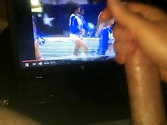 stroking to Dallas Cowboys Cheerleaders&039; haltime dance