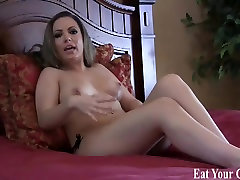 Open wide and swallow your own cum CEI