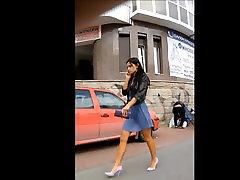 Karšto mergina Su Dideliu Kojų