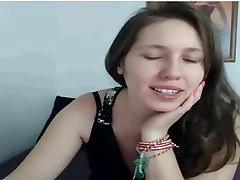 Mlado Dekle z Velikimi Joški, v Webcam, flash joške