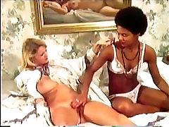 Najstniška Interracial Treh način Seks
