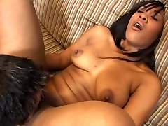 Candy ebony fucked by lucky