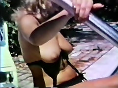 70s yui avase Blonde by the pool