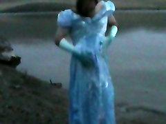 Pretty Blue cinderella dress