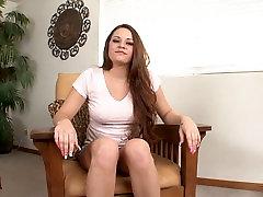 Hott Brunette Big Tit Talia Palmer Fuck Cumshot