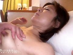 Skinny asian milf with enourmus mikatan hot