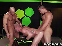 HotHouse Muscle Hunks Fuck Hard 3 Ways