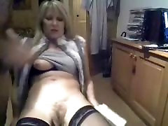 Hairy Italian blonde fiaser strip and fuck
