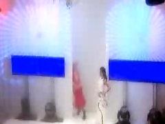 Dutch NippleSlip BNN TV-Host Nicolette Kluivert